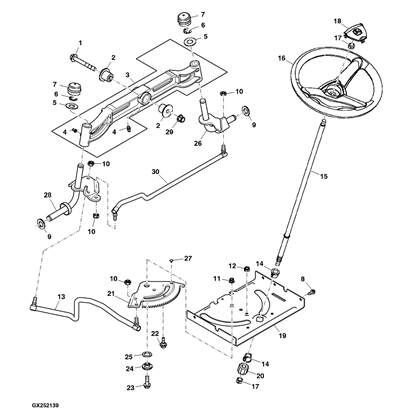 john deere 345 parts diagram with S 63 John Deere D130 Parts on John Deere 48 Mower Deck Parts Diagram as well John Deere Deck Parts Diagram furthermore John Deere L1 Parts Diagram additionally Husqvarna Hydrostatic Transmission Drive Belt Kevlar Fits Some Lth125 Lth130 Lth1342 Lth135 Lth151 Yt151 Yth210 Yth2148 Replaces 532140294 264 P besides Change Mower Belt Craftsman Mower 217174.