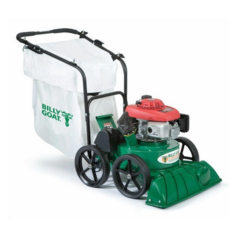 Self Propelled Walk Behind Leaf Blower: Billy Goat TKV650SPH Self-Propelled Lawn And Leaf Vacuum