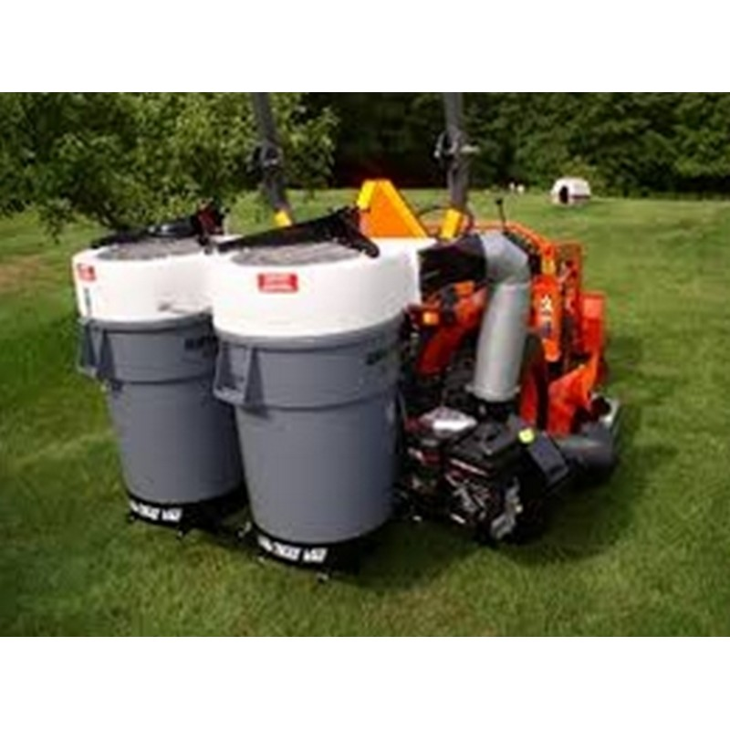 Trac Vac 662 Compact Tractor Leaf Collection Vacuum