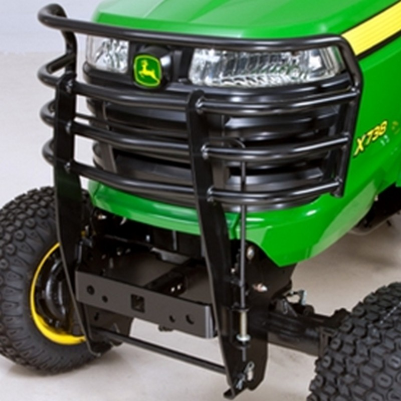 Grill Guards For Lawn Tractors : John deere front brush guard bm mutton power