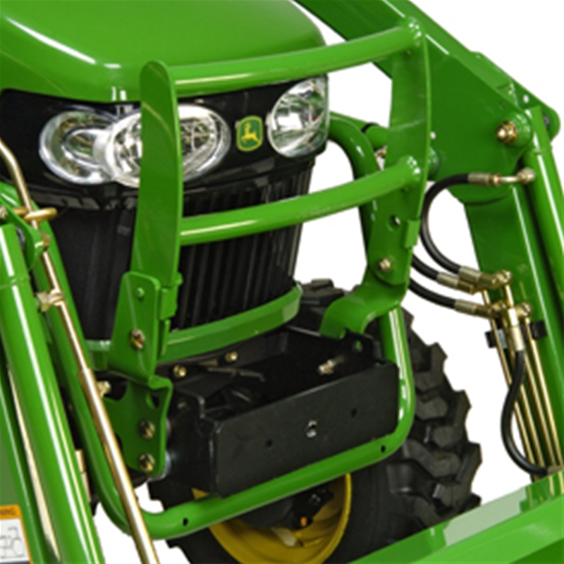 Tractor Grill Protector : John deere hood guard m series bw mutton power
