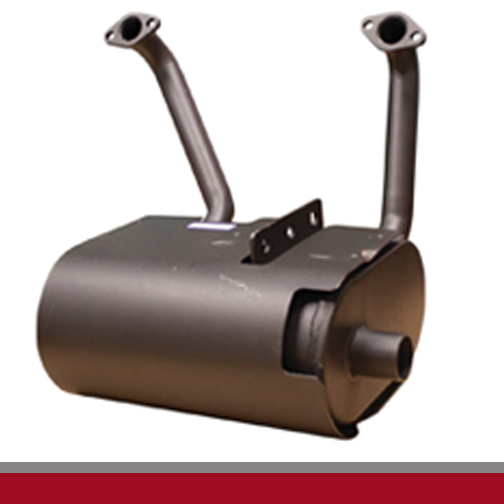 exmark mufflers and parts