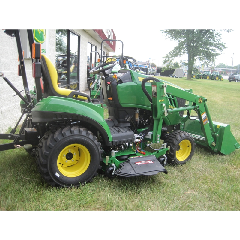John Deere Sub Compact Tractors : John deere sub compact utility tractor e package
