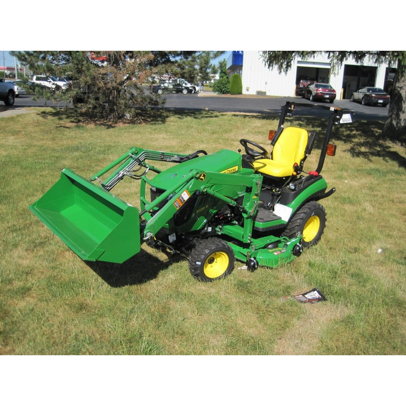 John Deere Sub Compact Tractors : John deere r sub compact utility tractor package