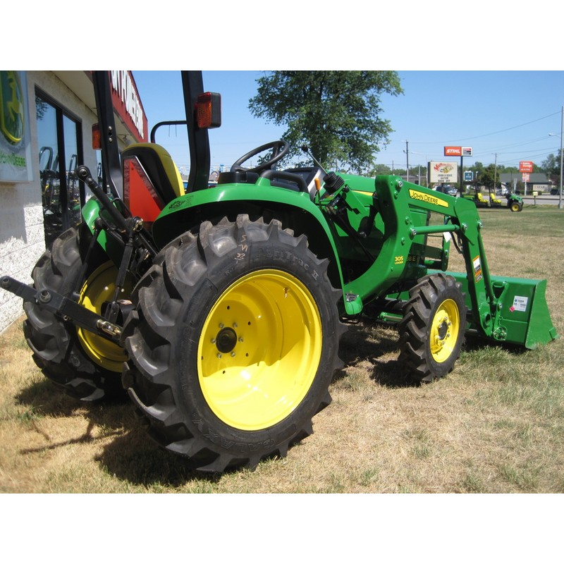 Small Utility Wagons For Tractors : John deere e compact utility tractor