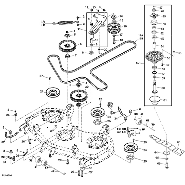 John Deere Sabre Mower Wiring Diagram further Deere Lt155 Harness Schematic additionally JM254Manual as well T40258 Chenille Cletrac in addition Farm King Finish Mower Parts. on john deere 850 tractor parts diagram