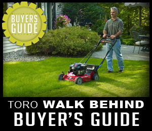 Toro Walk Behind Mower Guide